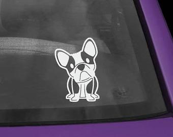 French Bulldog Cartoon Vinyl Decal