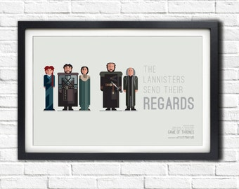 Game of Thrones - RED WEDDING - 19x13 Poster