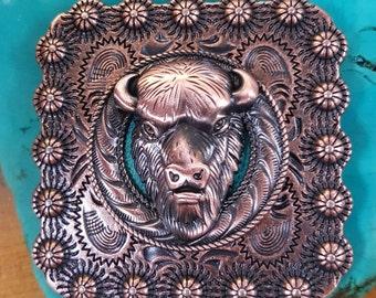 Bison Square Concho