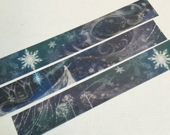 1 Roll of Limited Edition Washi Tape - Frozen Elsa Queen of ICE