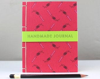 Squid Stab Stitch Blank Journal Sketch Book