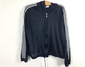 black mesh jacket size L