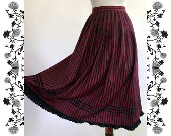 "Vintage ""Collection Kraft"" Dirndl Skirt"