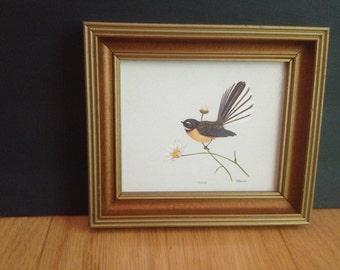 sweet vintage bird art