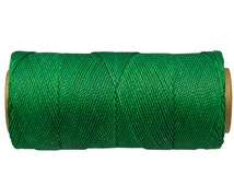 Waxed Cord, Jewelry String, Knotting Cord for Macrame, Thread for Leather, Waxed Thread - Kelly Green