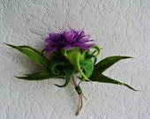Scottish Thistle Brooch Thistle Jewellry Thistle Flower Brooch Scottish gift - ready to ship