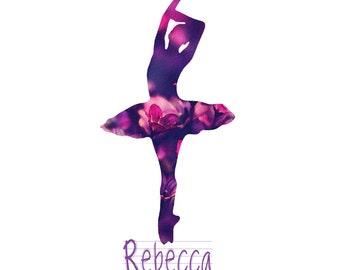 Bella Ballerina - Beautiful Teen Ballerina Portrait