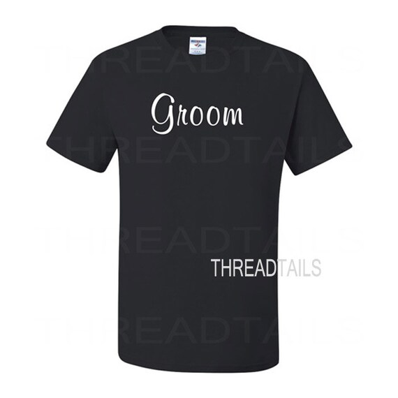 Groom T-shirt.  Beach wedding, bridal, Groom-to-be bachelor party tee, apparel, clothing, gift.