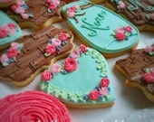 Boho/Shabby Chic/Cottage Chic Birthday/Shower/Party Cookies!