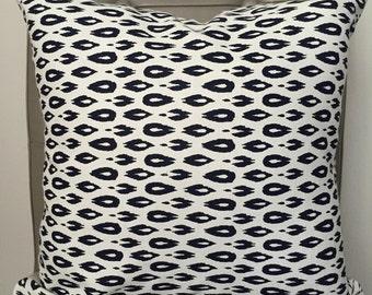 Pillow Cover, Throw Pillow, Decorative Pillow Cover, Throw Pillow, Cushion, Pillow Case, Navy and White Pillow Cover, Sofa Pillow
