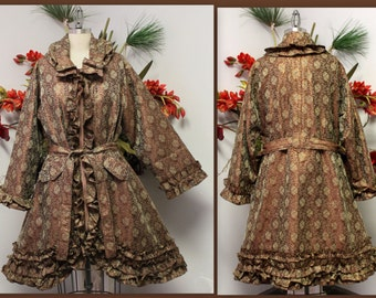 Royal Concepts Rare Silk jaquard jacket. Size One will fit L/XL/1XL, Party Wear, Stage Wear.