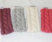 Custom order for Terry - 9 custom made Headband / Ear Warmers, colors selected by customer