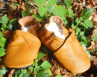 soft sole baby shoes leather infant kids gift brown 12 18 m ebooba 19-3