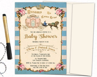 Once upon a time baby shower Etsy