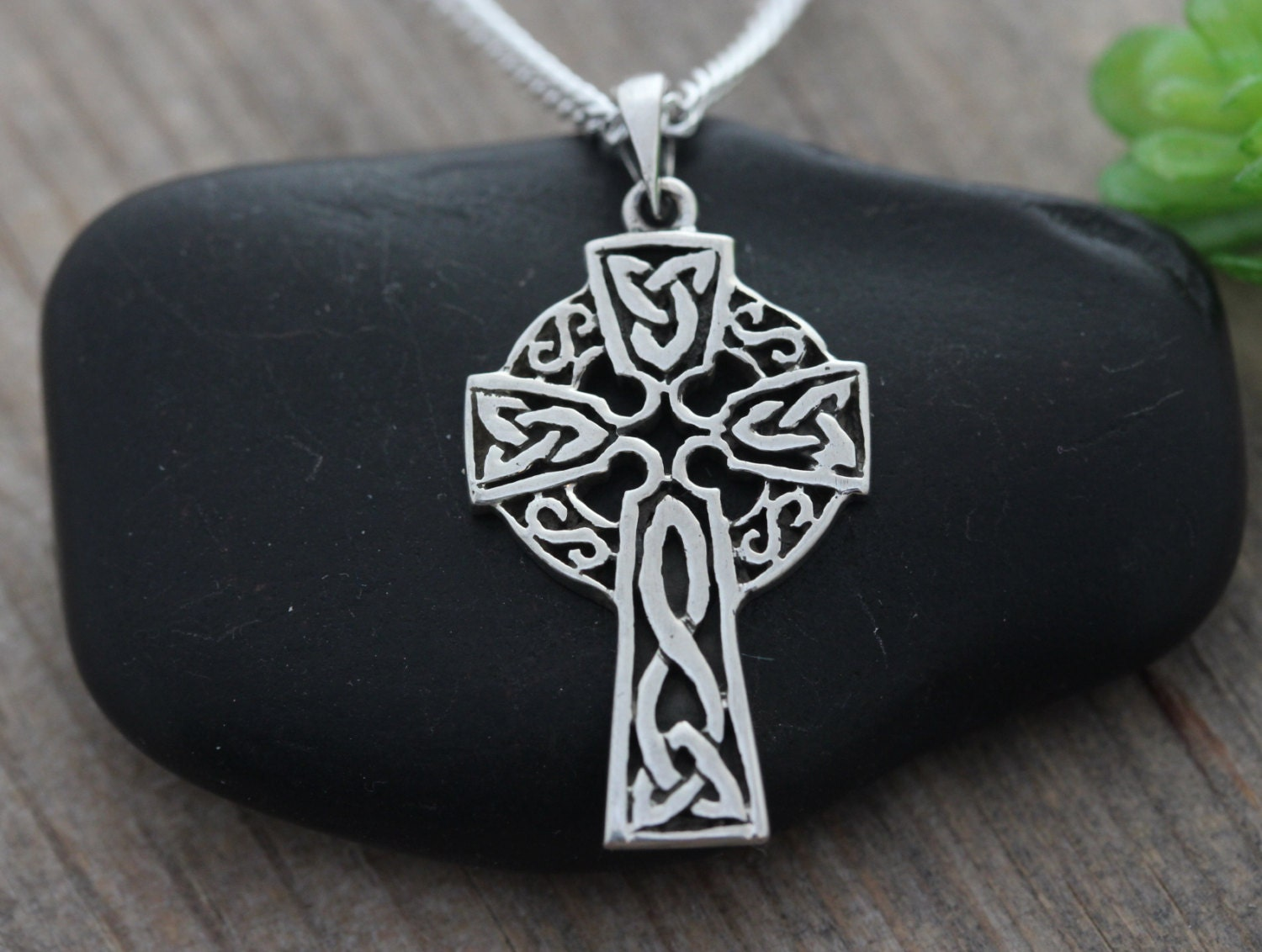 Sterling Silver Celtic Cross Celtic Jewelry Small Irish