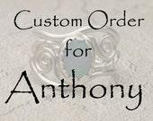 Custom order for Anthony.