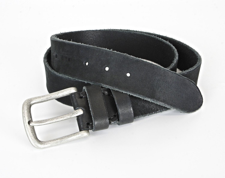 black aged leather belt 4cm mens leather belt womens