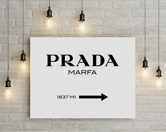 prada, prada marfa, prada marfa canvas, prada marfa print, canvas art, canvas, canvas print, canvas wall art, large art, large wall art,
