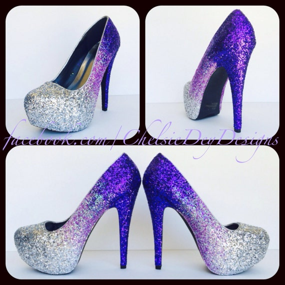 Lavendar High Heel Shoes