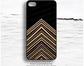 iPhone 6S GOLD Metallic Case, Chevron iPhone 5s Case, Lines iPhone 6 Case, Gold iPhone 5C Case, Gold iPhone 6 Case, iPhone 6S Case M28