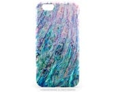 iPhone 6S Case Abalone Shell Print iPhone 5C Case Paua Shell iPhone 5s Case Teal Abalone TOUGH 6 iPhone Case Abalone 6 Plus iPhone Case T192