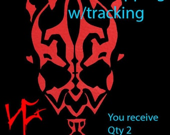 Star Wars Darth Maul Logo Imperial First Order Vinyl Decal Sticker Car Laptop Tablet Window