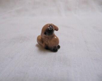 Vintage Hagen Renaker Pekingese Dog Puppy Miniature