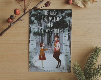 The Lion the Witch and the Wardrobe print