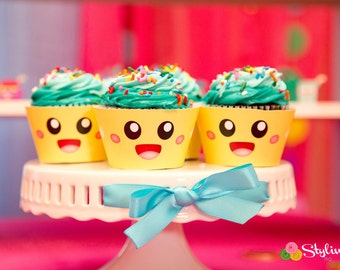 Cupcake Wrappers - Instant Download
