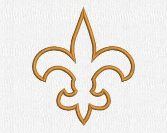 Saints Applique Embroidery Design