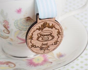 Best Tea Medal for Modern Achievements ~ tea drinker award / cup of tea medal / tea lover /brewmaster