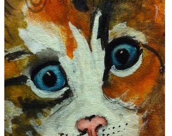 Kitten Art Print  8X6 inch #95