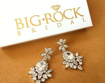 Rhinestone Wedding Earrings - BRAND NEW