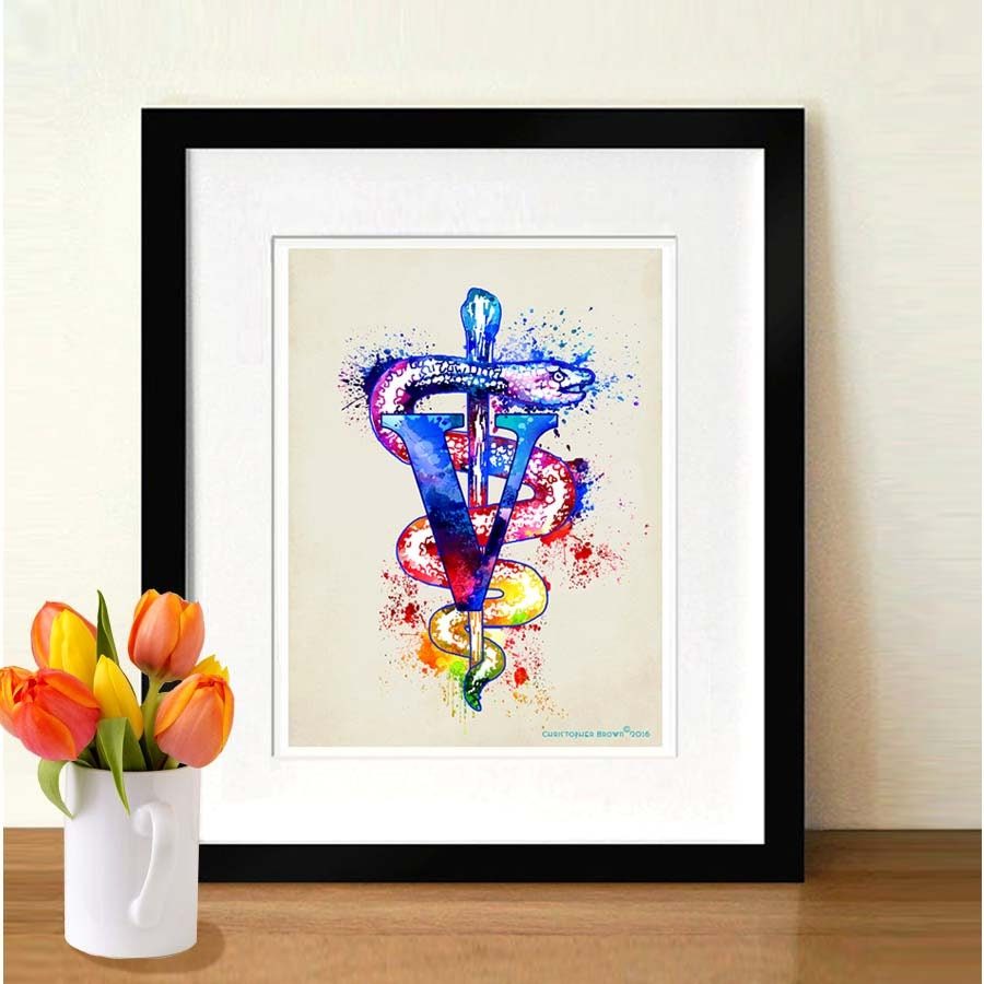 School Clinic Decorations Medical Art Etsy