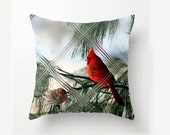 Cardinal- House Finch- Mug- Pillow Covering- Clock