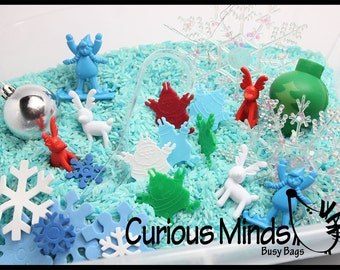 Winter Sensory Bin  - Toddler, Waldorf, Montessori