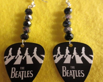 Beatles Abbey Road dangle earrings