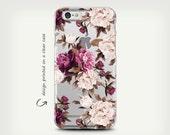 iPhone 7 Case , Galaxy S7 Case , Clear Rubber Case , Galaxy S7 Edge Case , Transparent Case , iPhone 6 Case , iPhone 6 Plus Case , Floral