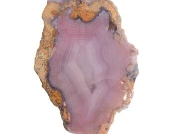 Lavender Agate Mystery Slab Nice Banding #3530