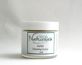 Herbal Cleansing Grains - Natural Face Mask