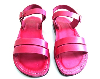 Leather Sandals, Leather Sandals Women, Sandals, Women's Shoes, DAFNA, Flip Flops, Biblical Sandals, Jesus Sandals, Sandals