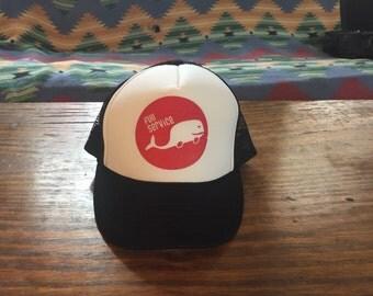 FS Trucker Hat (Black/White)