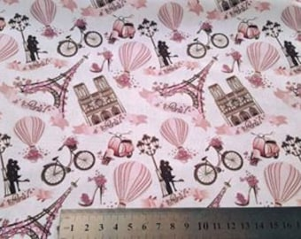 "Cotton ""Romantic Paris"""