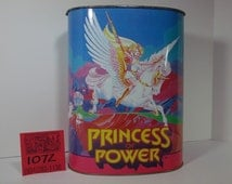 1980's Chein Princess of Power Trash can