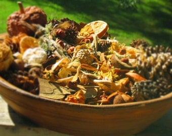Handmade Potpourri, All Natural, Handpicked, Hand Selected, Autumn / Fall Scents, Made in Tennessee