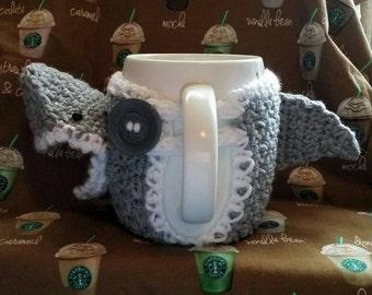 Great White Shark Cup/Mug Cozy