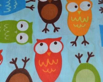Twill Fabric- Owls