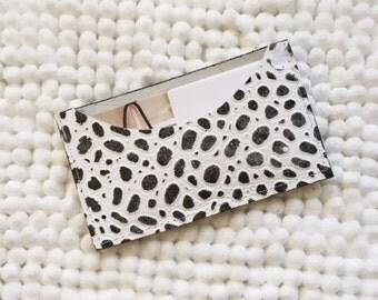 Leather Card Holder/Mini Wallet/Gift Card Holder