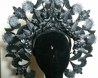 Black and Silver Gothic Halo