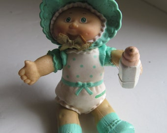 Baby Cabbage Patch Figurine Cabbage Patch Dolls CPK Birthday Party  1984 CPK  Dolls Cabbage Patch kids Cabbage Patch Collectible Figurines